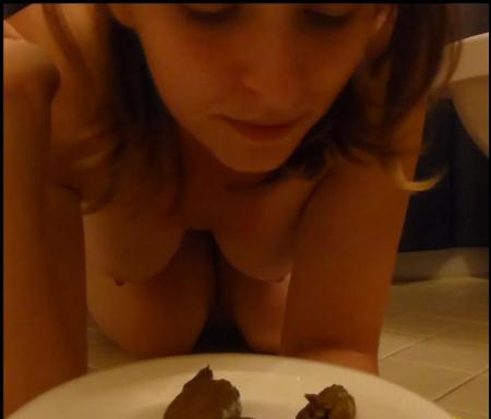 SecretLover3 - Full Plate of Shit [Shitting / 486 MB] FullHD 1080p (Poopping, Shitting, Solo)