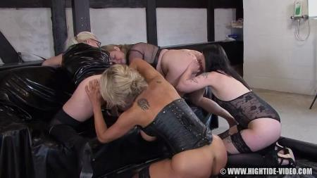 Betty - Betty & Friends - Four Of A Kind [Hightide-Video / 964 MB] HD 720p (Lesbian, Humiliation)