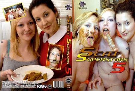 Louise Hunter, Susan, Tiffany, Maisy, Kira - Scat Superstars 5 [X-Models / 655 MB] DVDRip (Lesbians, Shitting)
