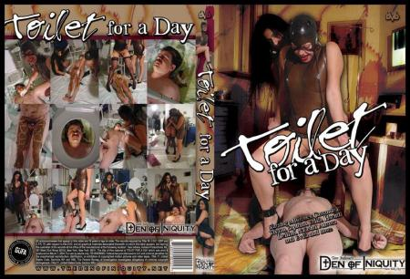 ScatGirls - Toilet For A Day [Femdom Scat / 302 MB] DVDRip (Domination Scat, Scat Porn)