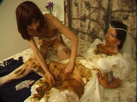Prettylisa, Lady St. Claire, 1 male - Brown Wedding Night [Hightide-Video / 699 MB] SD (Humiliation, Femdom Scat)