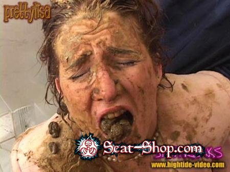 Models: Prettylisa , various males - SHITFREAKS [Hightide-Video / 700 MB] SD (Scat, Fisting, Gaping)
