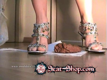 Ana Didovic - High Heels Great [DatingRealGirls / 12.6 MB] SD (Solo Scat / Netherlands)