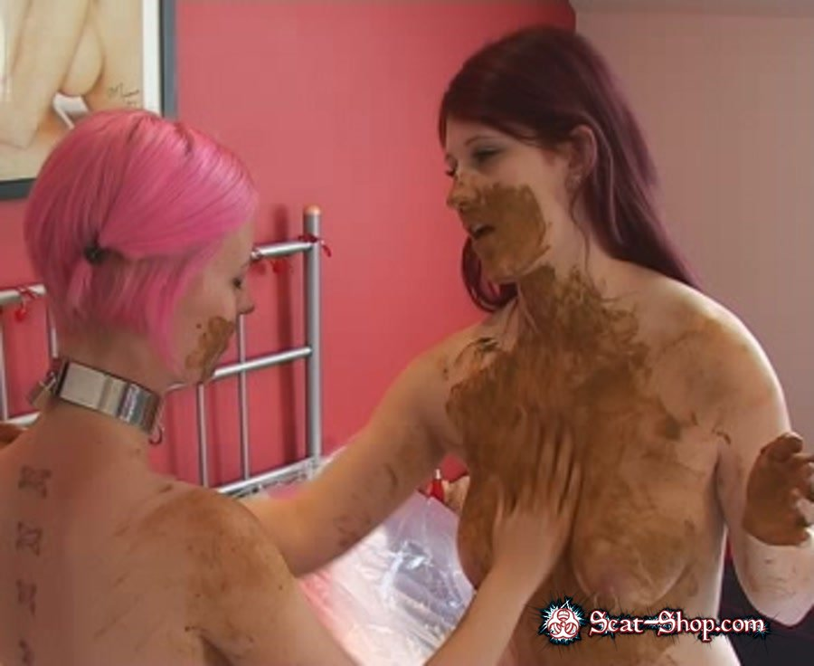 ScatGirls - Scat Superstars 3 [X-models / 663 MB] DVDRip (Lesbo, Domination)