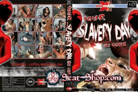 Latifa, Mochelle, Bia - [SD-3111] Your Slavery Day has come [MFX Media / 1.27 GB] HDRip (Lesbian, Domination, Brazil)