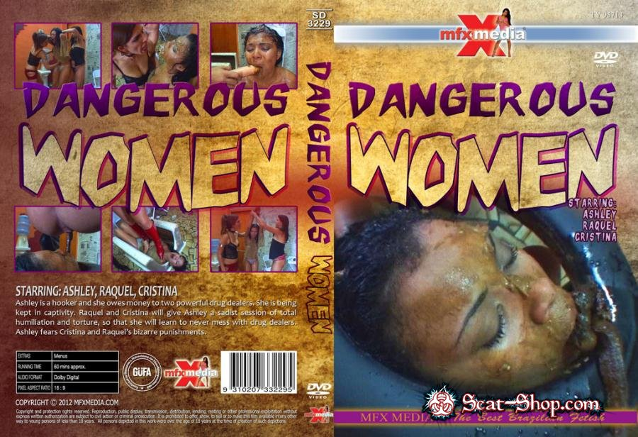 Ashley, Raquel, Cristina - SD-3229 Dangerous Women [MFX Media / 1.28 GB] HDRip (Domination, Brazil)