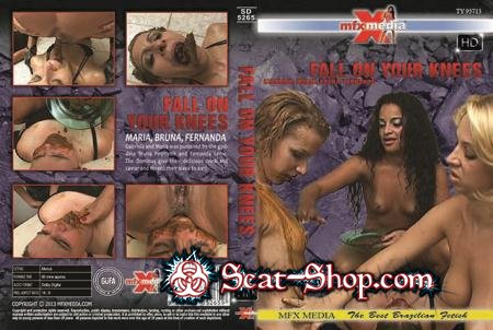 Paris, Sabrina Red, Giovanna - [SD-5265] Fall on your Knees [Brazil Scat / 1.30 GB] HDRip (Lesbian, Domination)