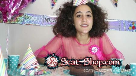 EllaDearest - Hand Finishing My Birthday Cake [Smear / 1.31 GB] FullHD 1080p (Teen, Solo)
