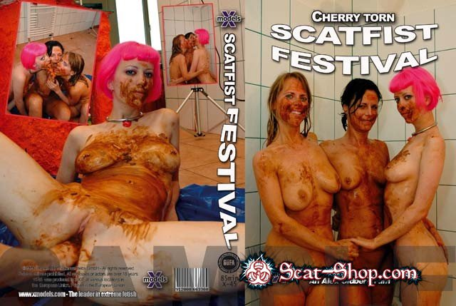 Cherry Torn, Isabelle - Scatfist Festival [X-Models / 639 MB] DVDRip (Scat, Lesbians, Fisting)
