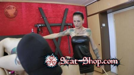Leatherdyke - Femdom Scatting [Humiliation Scat / 1.00 GB] HD 720p (Latex, Domination)