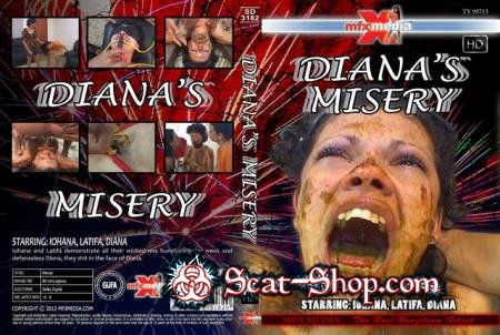 Iohana, Latifa, Diana - SD-3182 Diana's Misery [MFX Media / 1.40 GB] HDRip (Domination, Brazil)