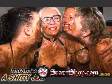 Betty, Molly, Monalisa, Sexy - BETTY & FRIENDS - A SHITTY JOB [Hightide-Video / 1.37 Gb] HD 720p