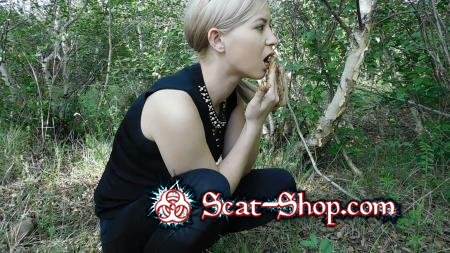 KatyaKASS - Breakfast in the forest with shit [Poop, Solo / 481 MB] FullHD 1080p (Poop, Solo)