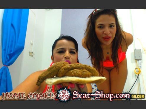 Messy Paula, Scatdoll - HOME COOKING [Hightide-Video / 377.4 Mb] HD 720p