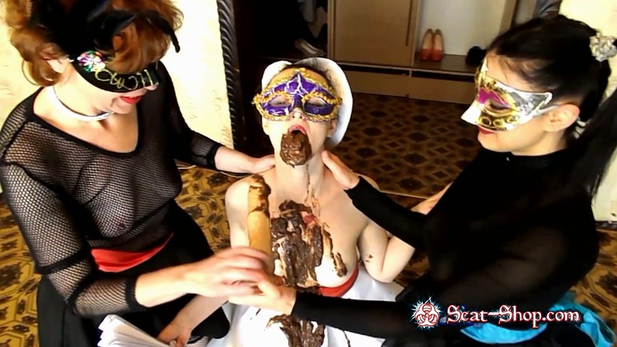 ModelNatalya94 - Doll Caroline [Amateur Scat / 1.18 GB] FullHD 1080p (Threesome, Scatting)