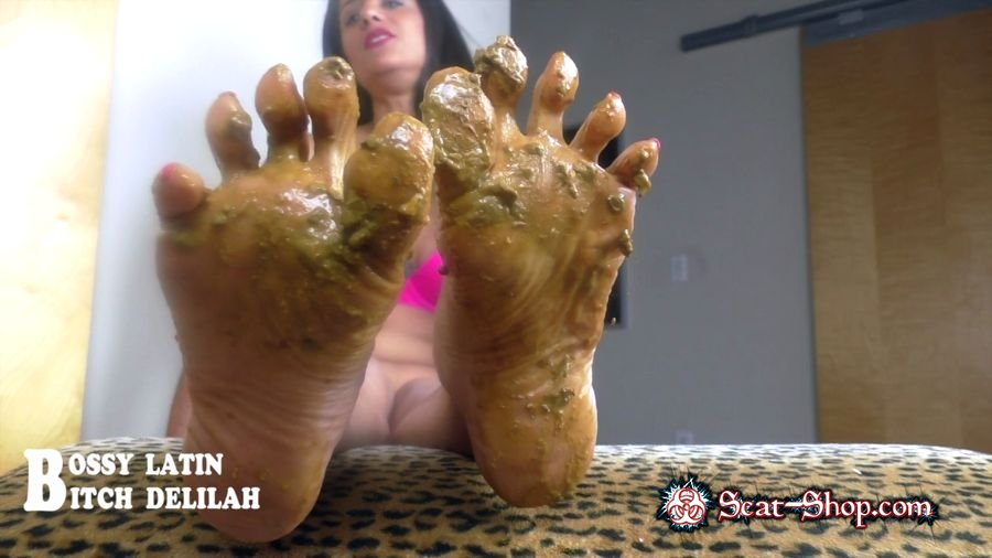 "Bossy Latin, Bitch Delilah - Scat Queen Delilah – Pretty ""SHITTY"" thing [clips4sale.com / 433 MB] HD 720p (Mature, Foot)"