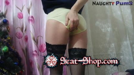 NaughtyPuma - PantyLoading part 16 with NaughtyPuma [Panties / 499 MB] FullHD 1080p (Shit In Pantyhose, Solo)