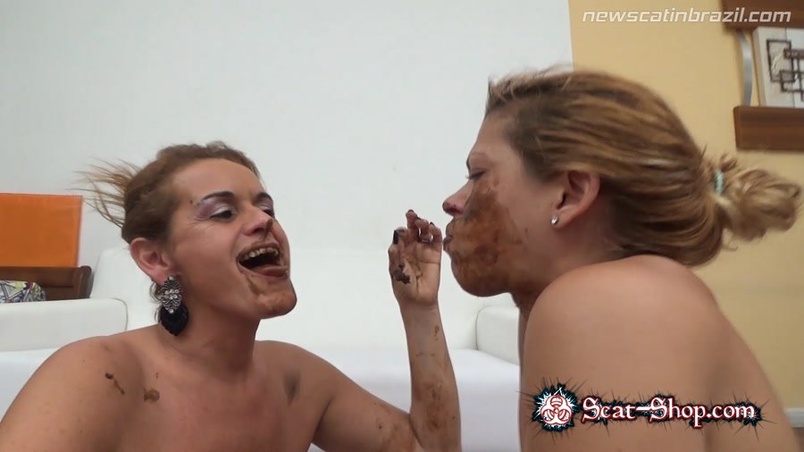 Chris, Diana - Very anxious she will meet an old friend Shit [New Scat In Brazil / 1.64 GB] FullHD 1080p (Scat, Lesbian, Domination)