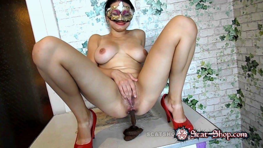 BigTitsAlisa - I'm a little obedient doll [Defecation / 1.04 GB] FullHD 1080p (Solo, Amateur)