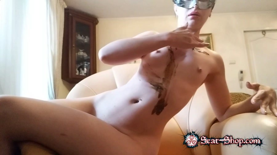 NastyGirl - leather armchairs pooping and total smearing [Scatting Girl / 1.48 GB] FullHD 1080p (Shitting Girls, Amateur, Solo)