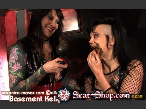 Veronica Moser, Kelly, 1 male - VM46 - BASEMENT KELLY [Hightide / 1024 MB] SD 720p (Scatology, Group)