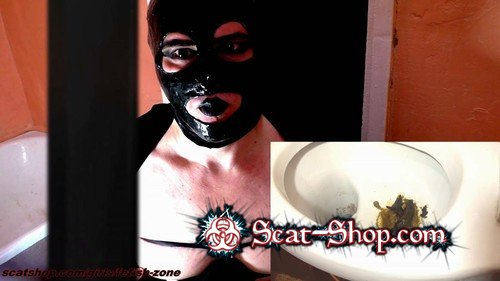 Fetish-zone - hore eats poop from the toilet! [Boobs Scat / 1.91 GB] FullHD 1080p (Solo, Amateur, Latex)