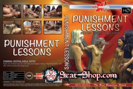 Latifa, Leslie, Angel, Cintia Sampaio - SD-4165 Punishment Lessons [MFX-Media / 1.25 GB] HD 720p (Lesbians, Domination)