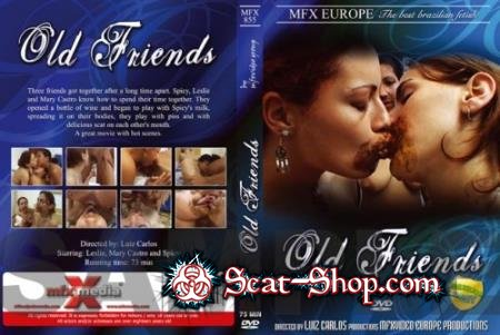 Leslie, Mary, Spicy - MFX-855 Old Friends [MFX-Video / 746 MB] DVDRip (Scat, Lesbian, Brazil)