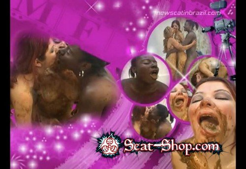 Tatthy, Nana Volgue, Karla - Scat Swallowing Models [Newscatinbrazil.com / 399 MB] DVDRip (Lesbian, Domination)