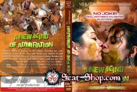 Maria, Nadja - MFX-746 A New Kind Of Admiration [MFX-Media / 700 MB] SD (Lesbian, Smearing)