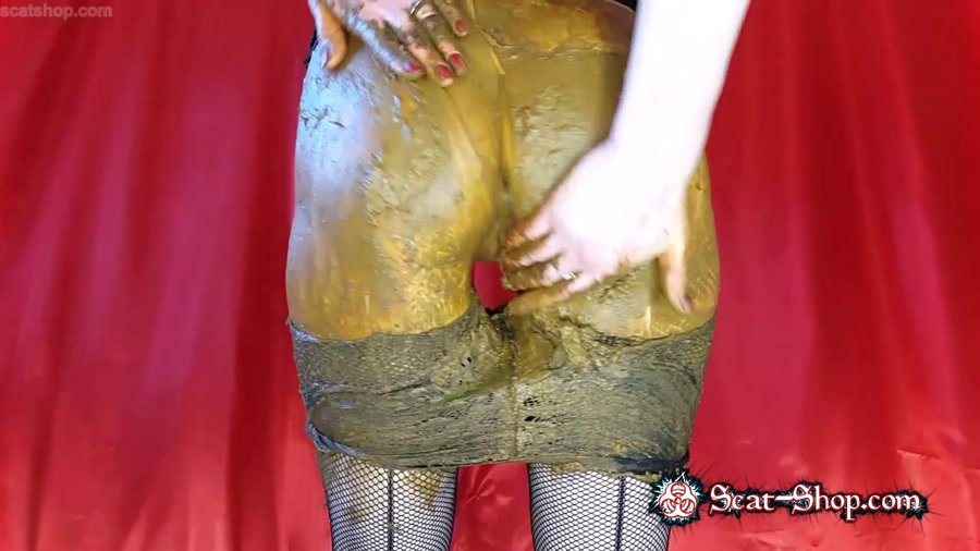 Anna Coprofield - I will Ruin these Beautiful Tights Anyway Part 2 [Shit In Pantyhose / 1.70 GB] FullHD 1080p (Scatology, Solo)