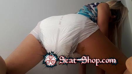 thefartbabes - Smelly Full Diaper [Diapers Schit / 1.28 GB] FullHD 1080p (Solo, Poop)