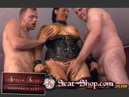 Stella, 3 males - STELLA BLUE, CORPORATE SLUT [Hightide-Video.com / 594 MB] HD 720p (Domination, Group, Sex)