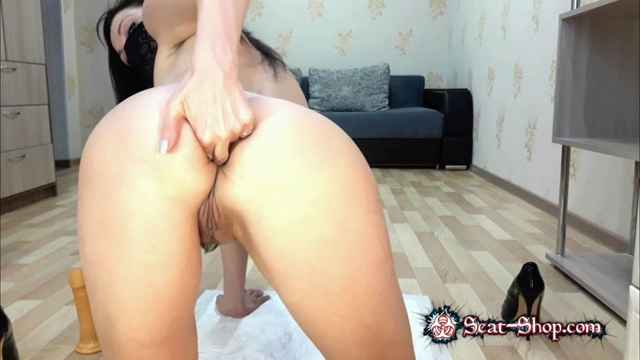 ScatLina - Dirty anal [Scatting / 880 MB] FullHD 1080p (Masturbation, Toys)