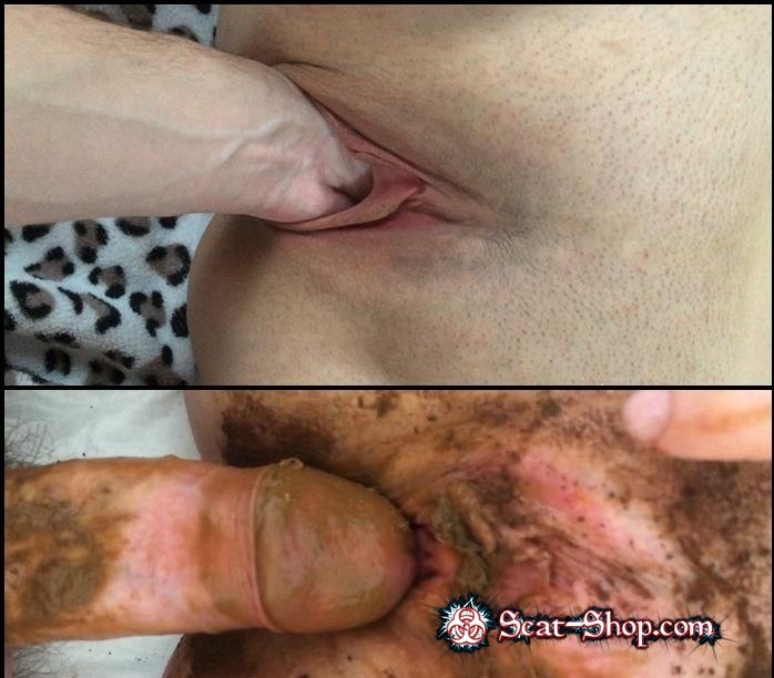 Youngwildperverz - Creampie of full scat pussy compilation [Scat Fuck / 1.06 GB] FullHD 1080p (Anal, Amateur)