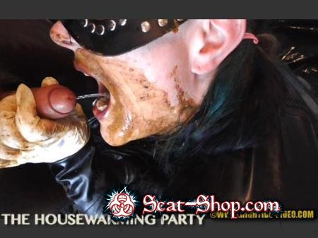 Violet, 1 male - THE HOUSEWARMING PARTY [Hightide-Video.com / 594 MB] HD 720p (Domination, Latex)
