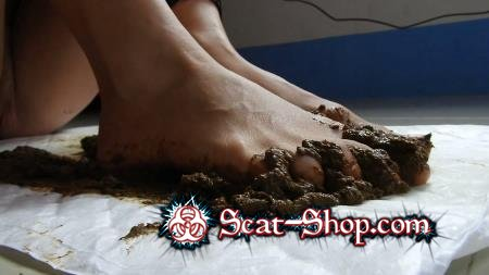 MissAnja - Scat Feet And Dirty Anal Fun [Foot Scat / 1.50 GB] FullHD 1080p (Fetish, Poop)