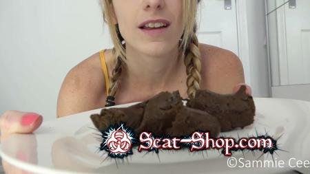 Sammiecee - Serving You A Poop Plated Dinner [Stars Scat / 913 MB] FullHD 1080p (Smearing, Solo)