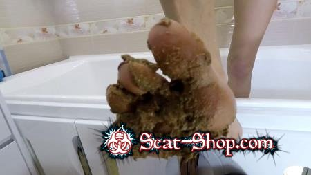 Mistress Emily - Toilet Slave Swallow My Shit [Femdom / 3.51 GB] FullHD 1080p (Feet, Humiliation)