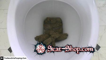 ShitGirl - Toilet Destroyed In 5 Mins [Solo / 471 MB] FullHD 1080p (Scatology, Amateur)